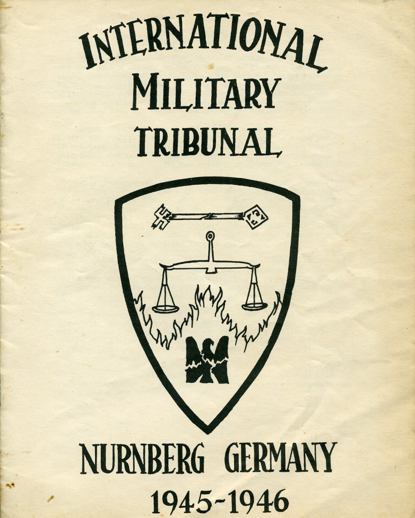 a history of the nuremberg trials pf november 1945 International criminal law and the ad hoc tribunals 1 historical background robert jackson in his opening address at the nuremberg trials on 20 november 1945.