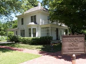 Eisenhower home, Abilene KS