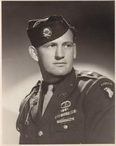 Buck Compton in Uniform