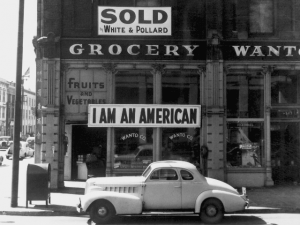 Japanese-American in CA after Pearl Harbor