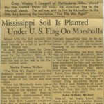 30 March 1944 article from the Memphis newspaper, The Commercial Appeal.