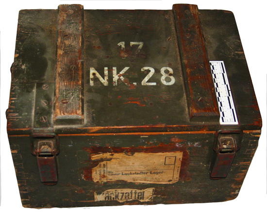 Artifact Highlight: German Ammo Crate | The National WWII