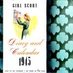 Girl Scout Calendar 1945