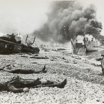Dieppe was a costly trial run for D-Day. Gift of James Moorman, 2002.439