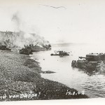 The aftermath of the Dieppe Raid, 18 August 1942. Gift of James Moorman, 2002.439