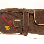 Duchess's uniform, made by Snyder from an Army blanket and some of his insignia. Gift of Howard M. Snyder, 2012.259