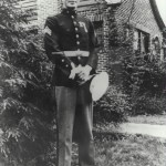 Sgt. Clyde Thomason, the first enlisted marine to earn the Medal of Honor in WWII.
