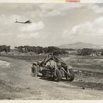 US Navy Seabees completed the necessary airfields in the Marianas in record time. 30 March 1945. Gift of Charles Ives, 2011.102.002