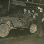 Six year old Billy Michal and his fellow champions on a jeep tour of New Orleans