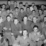 Stan is in the second row, second from the right