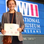 """Lauren Fidelak's research paper, """"Hiroshima: The Event that Changed the World"""" earned her a trip to the National History Day Contest."""