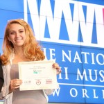 "Zoe Zemmels won the Senior Individual Performance category and will be performing, ""Darwin's Theory of Evolution: A Turning Point in the Human Experience"" at the National History Day Contest."