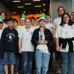 The Digital Crusaders earned second place for robot performance.