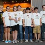 The MBS Pelibot Bombers won the Robot Design Award.