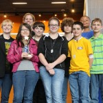 """The second place project award goes to the Robo-Bombers for their """"We Can Grow It"""" campaign."""