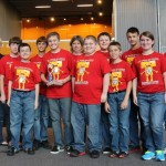 """Team USMC-R captured third place for their project, """"Grease to Green."""""""