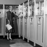 Dr. Grace Hopper with COBOL programming language. Image courtesy of Vassar College.