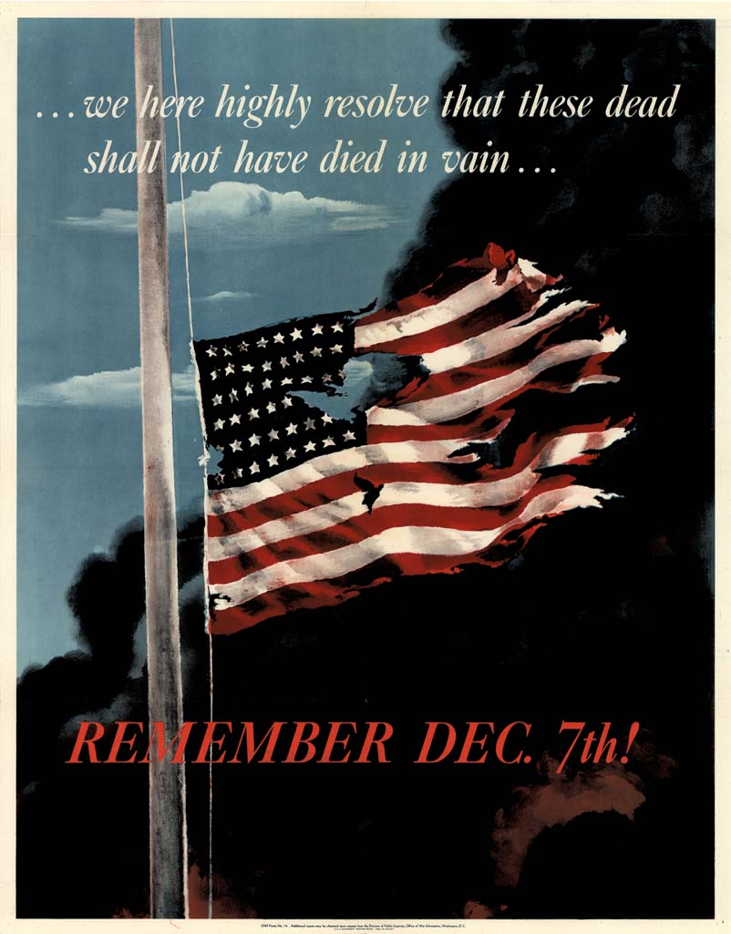 Remembrance Day Pearl Harbor >> Pearl Harbor and Propaganda Posters | The National WWII Museum Blog