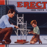 The A.C. Gilbert Company's Erector Set. Image Courtesy of Eli Whitney Museum.
