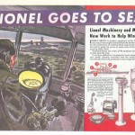 Advertisement describing Lionel's precision navigation instruments. Image Courtesy of Lionel LLC.