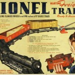 Lionel paper train, produced in 1943. Image courtesy of Lionel LLC.