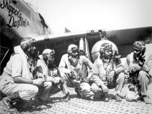 Tuskegee Airmen. Courtesy of the National Archives and Records Administration.