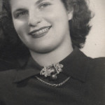 Eva Lux Braun after WWII at age 21. Image courtesy of Evan Lux Braun.