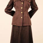 WAC (Women's Army Corps) uniform of Adah Briscoe. Gift of Adah Briscoe Michaels, The National WWII Museum, 2001.045