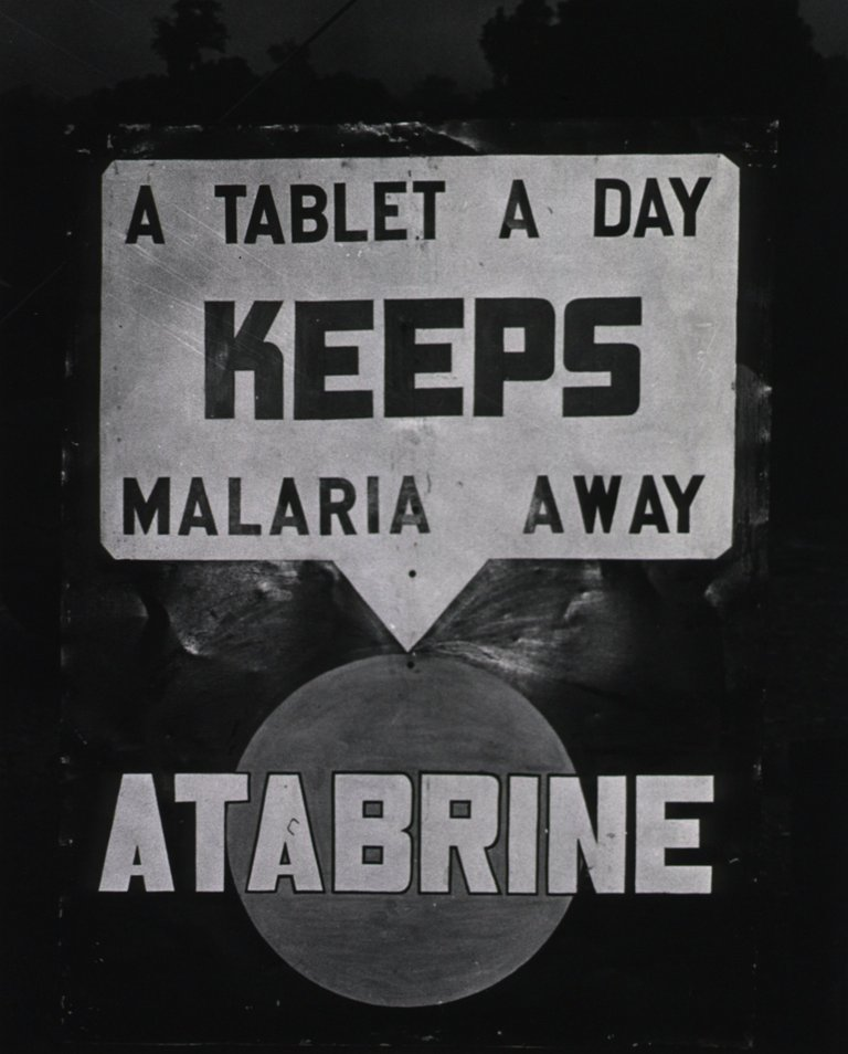 Malaria control campaign in Ledo, 1945. Image courtesy of the U.S. National Library of Medicine.