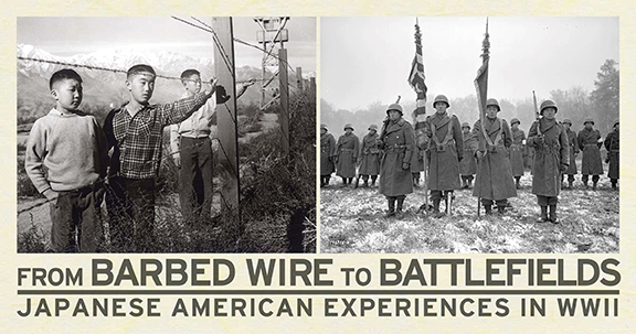 From Barbed Wire To Battlefields Programming  The National Wwii  Barbedlogohorizppi