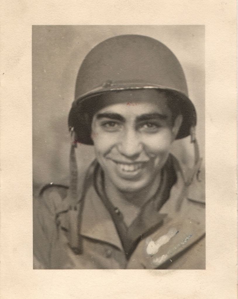 Cosmo Uttero in 1943. Image courtesy of Cosmo Uttero.