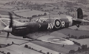 The Supermarine Spitfire. Image courtesy of the National Archives.