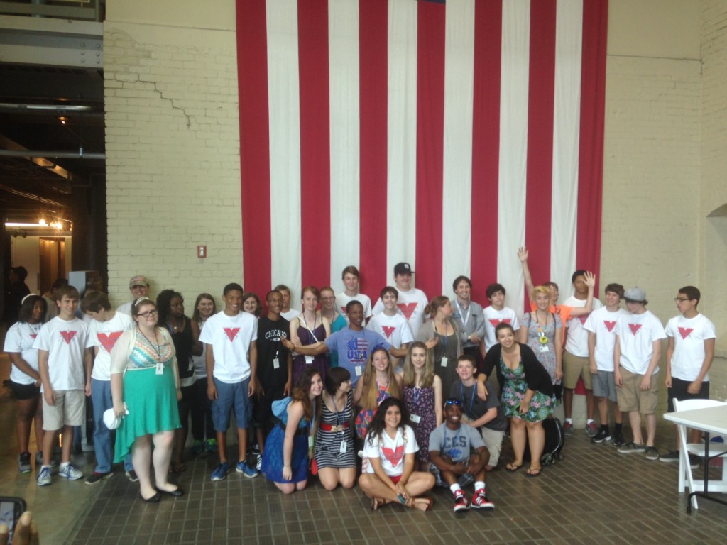 Cincinnati Youth Program Visits the Victory Corps