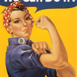 J. Howard Miller's Rosie the Riveter.