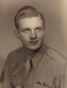 Frank Denius, WWII-era photo
