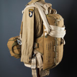 Parachute packs were made from cotton, while their straps were often made from hemp.
