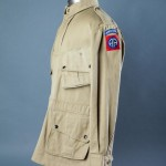 Uniforms were made from cotton, a common product that needed increased production in the war years.