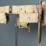 Belts and packs made of cotton were an important part of the soldier's kit.