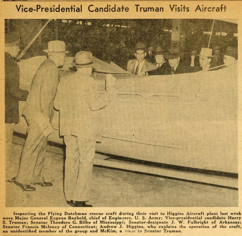 Truman's visit