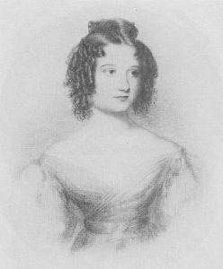 Ada Byron, about the age of her presentation at court, in her Austen phase.