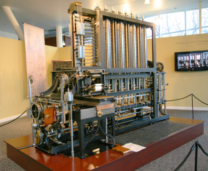 In 2002 the Difference Engine was finally completed, using some of the parts abandoned in 1833.