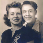 "Verna and J.I. or ""Jim"" as she called him. When they met in California, J.I. had his initials JIM for Joseph Ignatius Monte sewn on his clothes. Verna thought it was for his name Jim and continued to call him that throughout their life together."