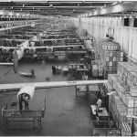 Willow Run Bomber Plant- Ypsilanti Twp, MI. Courtesy of The National Archives