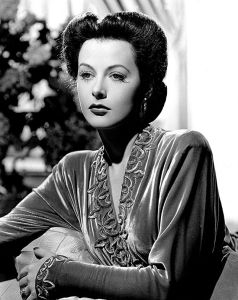 Hedy Lamarr in an MGM publicity photo from 1942. She was 28.