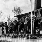An awards ceremony at Los Alamos