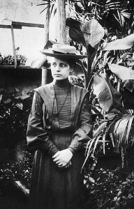 Lise Meitner at 18 in Vienna