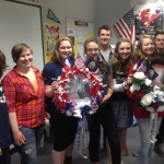 Some of Nitcy's Honor Flight Club students from Sandpoint High School.