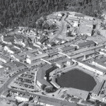 Los Alamos was built high in the mountains of northern New Mexico