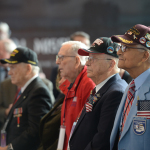 World War II veterans in attendance of the Road to Berlin opening ceremony on December 12, 2014.