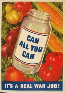 Can All You Can propaganda poster